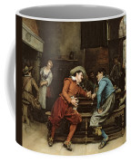Two Men Talking In A Tavern Coffee Mug