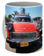 Two Old American Cars Coffee Mug