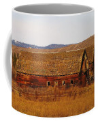 Two Old Barns Near Thorp  Wa Coffee Mug
