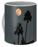 Two Palms And The Moon Coffee Mug