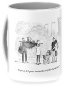 Two Parents Carrying Their Baby On A King's Coffee Mug