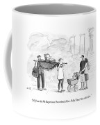 Two Parents Carrying Their Baby On A King's Coffee Mug by Julia Suits