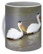 Two Pelicans Coffee Mug