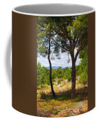 Two Pine Trees Coffee Mug by Carlos Caetano