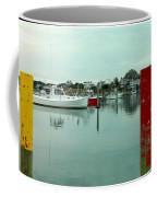 Two Poles Coffee Mug by Kathy Barney