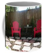 Two Red Chairs Coffee Mug