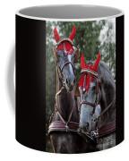 Two Red Devils Coffee Mug