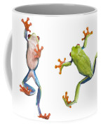 Two Red Eyed Tree Frogs Coffee Mug
