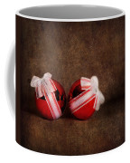 Two Red Ornaments Coffee Mug