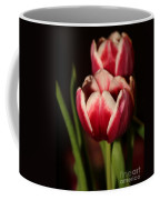Two Red Tulips Coffee Mug