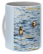 Two River Otters Coffee Mug