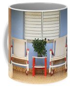 Two Rocking Chairs On The Porch Coffee Mug