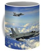 Two Royal Australian Air Force Fa-18 Coffee Mug