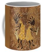 Two Sax Players Coffee Mug