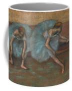 Two Seated Dancers Coffee Mug