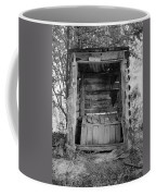 Two-seater Outhouse Coffee Mug