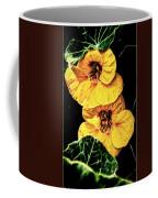 Two Shy Sisters Fractal Coffee Mug