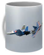 Two Sukhoi Su-27 Flanker Of The Russian Coffee Mug