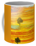 Two Sunsets In Limassol Coffee Mug