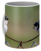 Two Swallows Coffee Mug