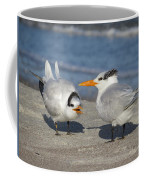 Two Terns Talking Coffee Mug