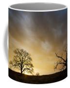 Two Trees Greeting The Sun Coffee Mug