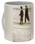 Two Victorian Men Walking Coffee Mug