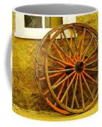 Two Wagon Wheels Coffee Mug