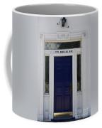 Two Whale Oil Row - Blue Door - New London Coffee Mug