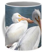 Two White Pelicans Coffee Mug