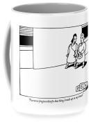 Two Women Walk Coffee Mug