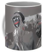 Two Yaqui Pascola Dancers Gallery In The Sun Tucson Arizona 1969-2013 Coffee Mug