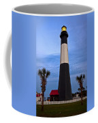 Tybee Light And Palms Coffee Mug