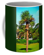 Tybee Palm Coffee Mug