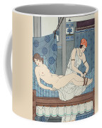 Tying The Legs Together Coffee Mug by Joseph Kuhn-Regnier