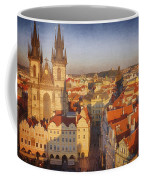 Tyn Church Old Town Square Coffee Mug
