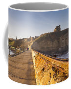 Tynemouth Priory And Castle From North Pier Coffee Mug