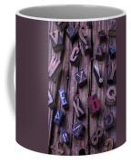 Typesetting Blocks Coffee Mug