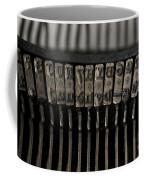 Typewriter Coffee Mug