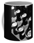 Typewriter Keys, 1921 Coffee Mug