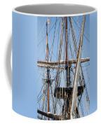 U. S. Brig Niagara Rigging Coffee Mug