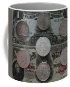 U S History Of Silver Dollars Coffee Mug