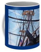 An Aspect Of The U S S Constellation, Baltimore Coffee Mug