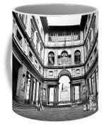 Uffizi Gallery In Florence Coffee Mug