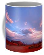 Ufo At Monument Valley Coffee Mug