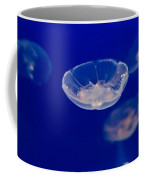 Ufo-moon Jellyfishes Coffee Mug by Eti Reid