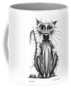 Ugly Cat Coffee Mug