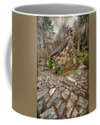 Ugly Cottage Coffee Mug by Adrian Evans