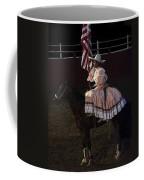 July 4th Rodeo Hispanic Female Rider Charreada Chandler Arizona 1999-2014 Coffee Mug