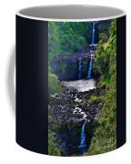 Umauma Falls I Coffee Mug
